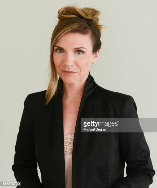 Caroline Whitney Smith poses for portrait at The Artists Project on April 12 2017 in Los Angeles California