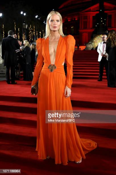 Caroline Winberg arrives at The Fashion Awards 2018 In Partnership With Swarovski at Royal Albert Hall on December 10 2018 in London England