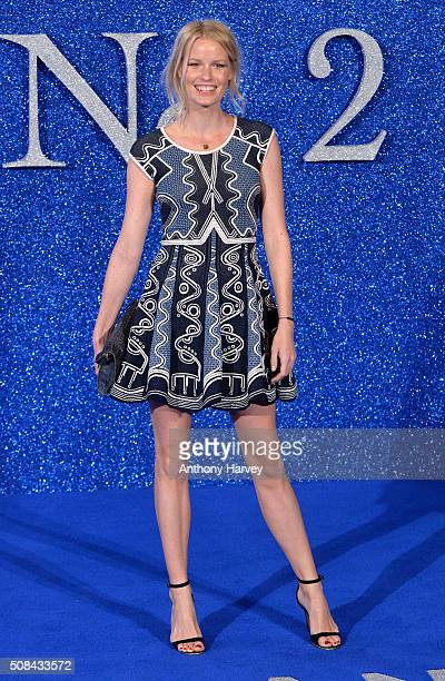 Caroline Winberg attends a London Fan Screening of the Paramount Pictures film Zoolander No 2 at Empire Leicester Square on February 4 2016 in London...