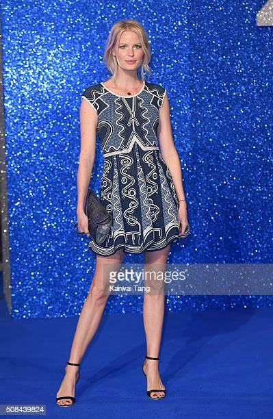 "Caroline Winberg attends a London Fan Screening of the Paramount Pictures film ""Zoolander No. 2"" at Empire Leicester Square on February 4, 2016 in..."