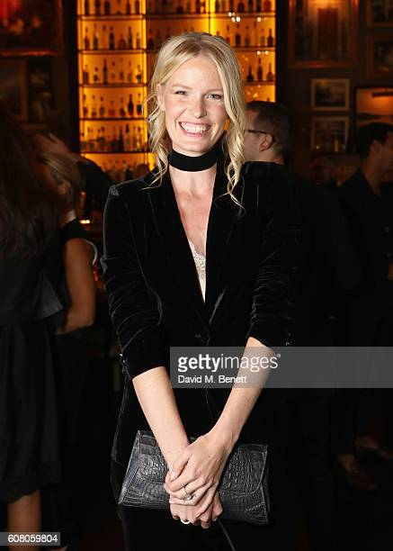 Caroline Winberg attends the Business of Fashion #BoF500 Gala Dinner at The London EDITION on September 19 2016 in London England
