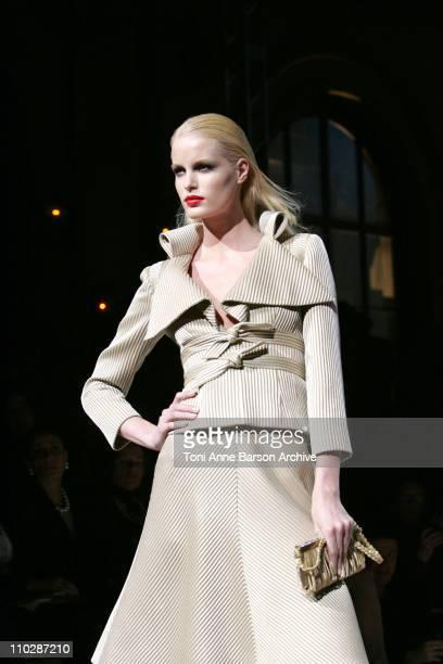 Caroline Winberg wearing Valentino Haute Couture Spring/Summer 2006