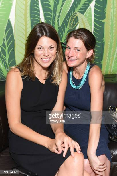 Caroline Woolridge and Sarah Jackson attend Elizabeth Shafiroff and Lindsey Spielfogal Host the First Annual Global Strays Fund Raising Party at...
