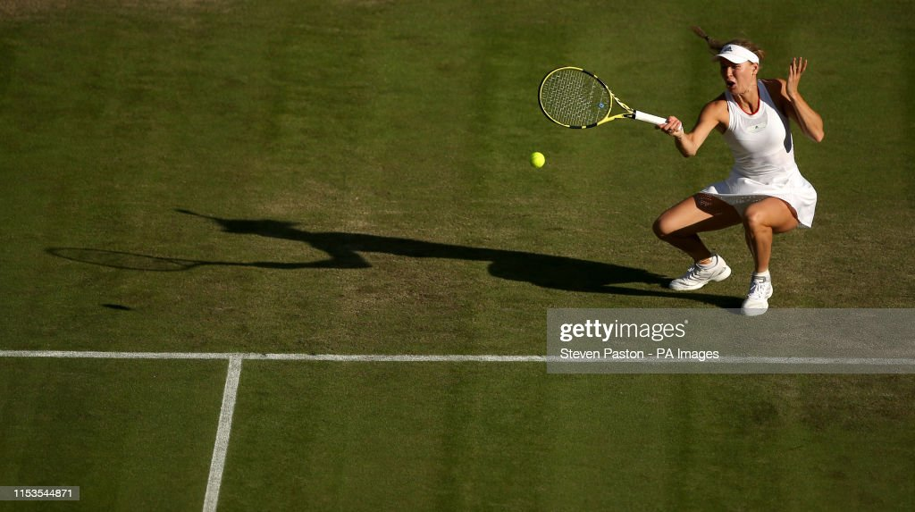Wimbledon 2019 - Day Three - The All England Lawn Tennis and Croquet Club : News Photo