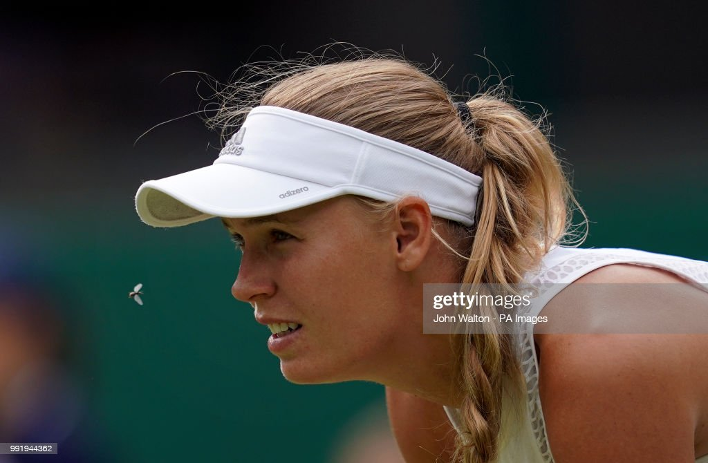 Wimbledon 2018 - Day Three - The All England Lawn Tennis and Croquet Club : News Photo