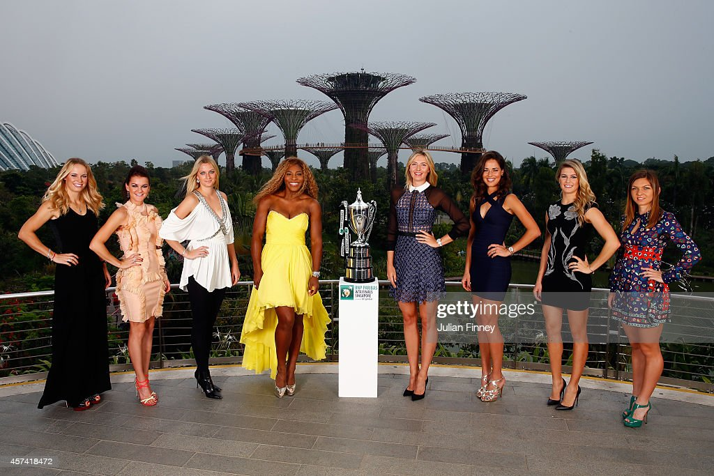 Female Tennis Stars Attend BNP Paribas WTA Finals: Singapore 2014 - Previews