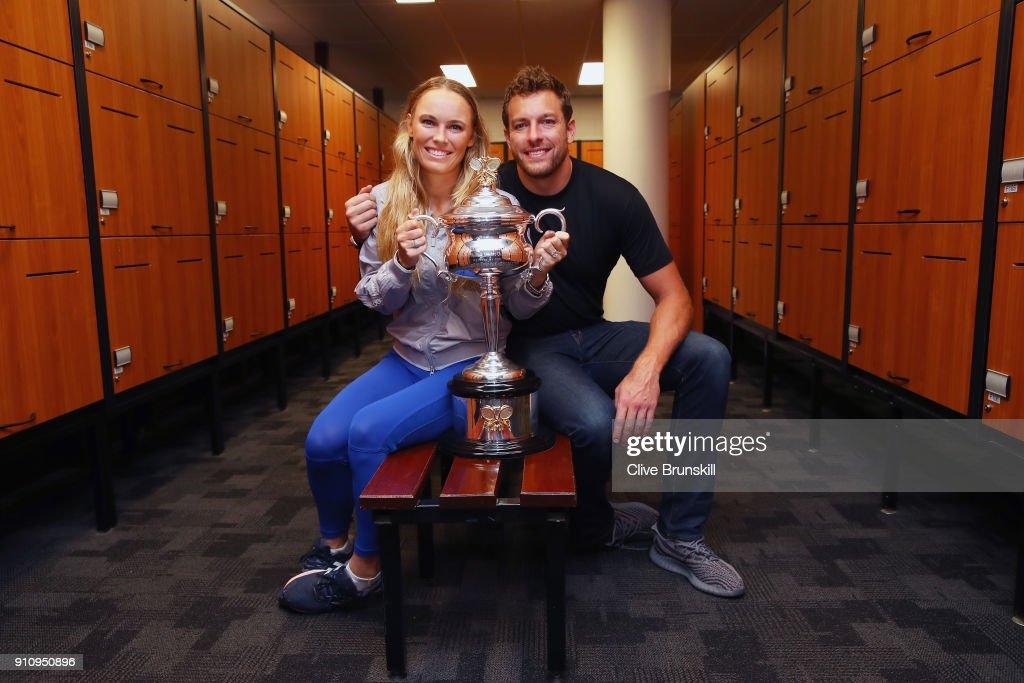 2018 Australian Open - Day 13 : ニュース写真