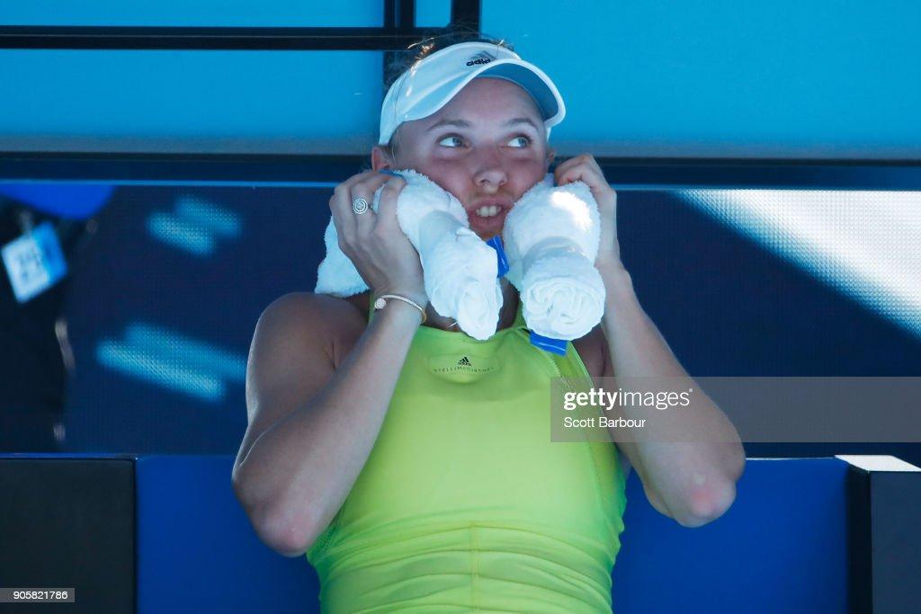 2018 Australian Open - Day 3 : News Photo