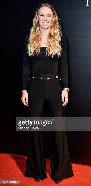 Caroline Wozniacki of Denmark attends the 2017 China Open Player Party at Beijing Olympic Tower on October 1, 2017 in Beijing, China.