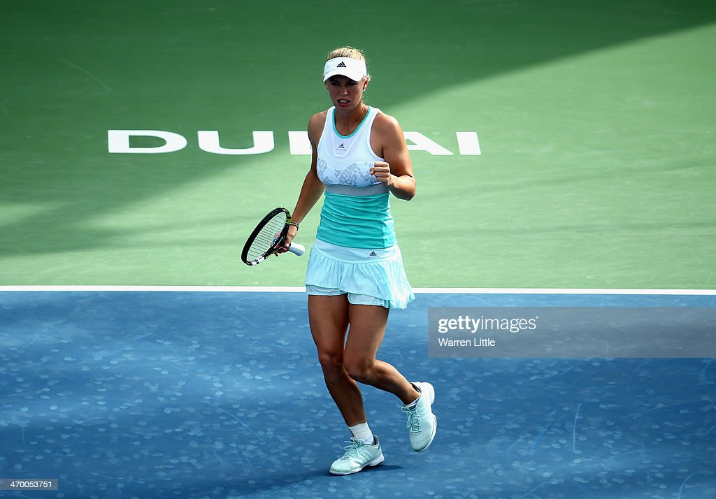 WTA Dubai Duty Free Tennis  Championship - Day Two : News Photo