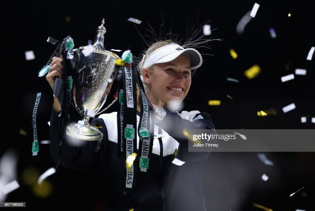 BNP Paribas WTA Finals Singapore presented by SC Global - Day 8 : Photo d'actualité