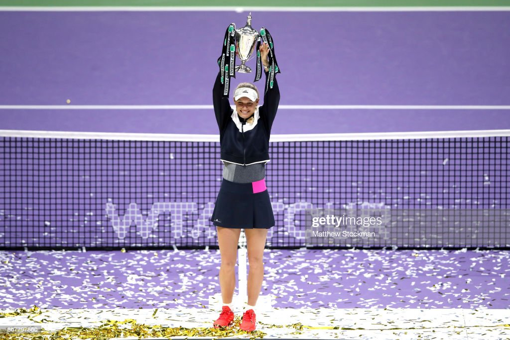 BNP Paribas WTA Finals Singapore presented by SC Global - Day 8 : News Photo