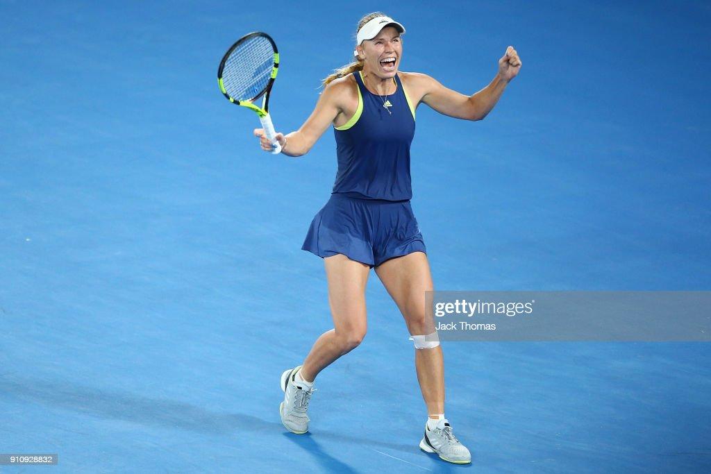 2018 Australian Open - Day 13 : News Photo