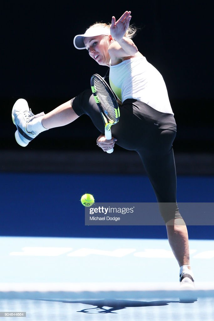 2018 Australian Open - Previews : News Photo