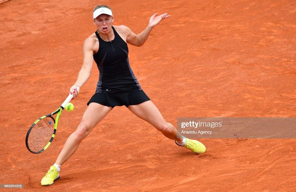 French Open tennis tournament 2018 - Day 2 : News Photo