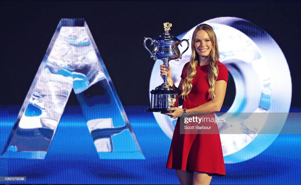 2019 Australian Open Official Draw : ニュース写真