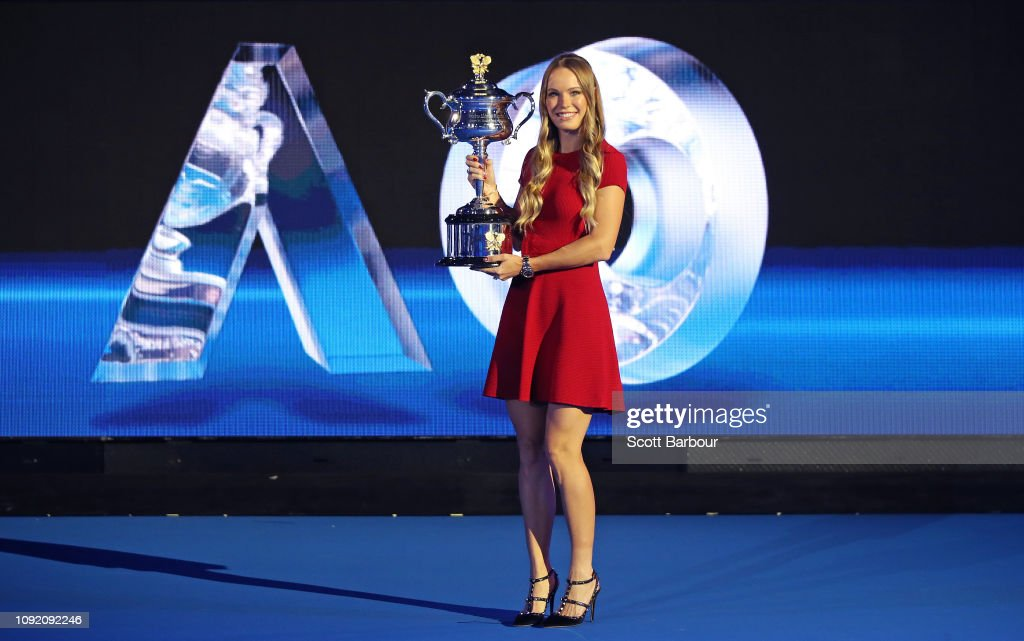 2019 Australian Open Official Draw : News Photo