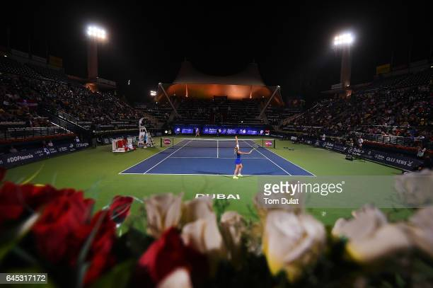 Dubai Duty Free Tennis Stadium Stock Photos And Pictures