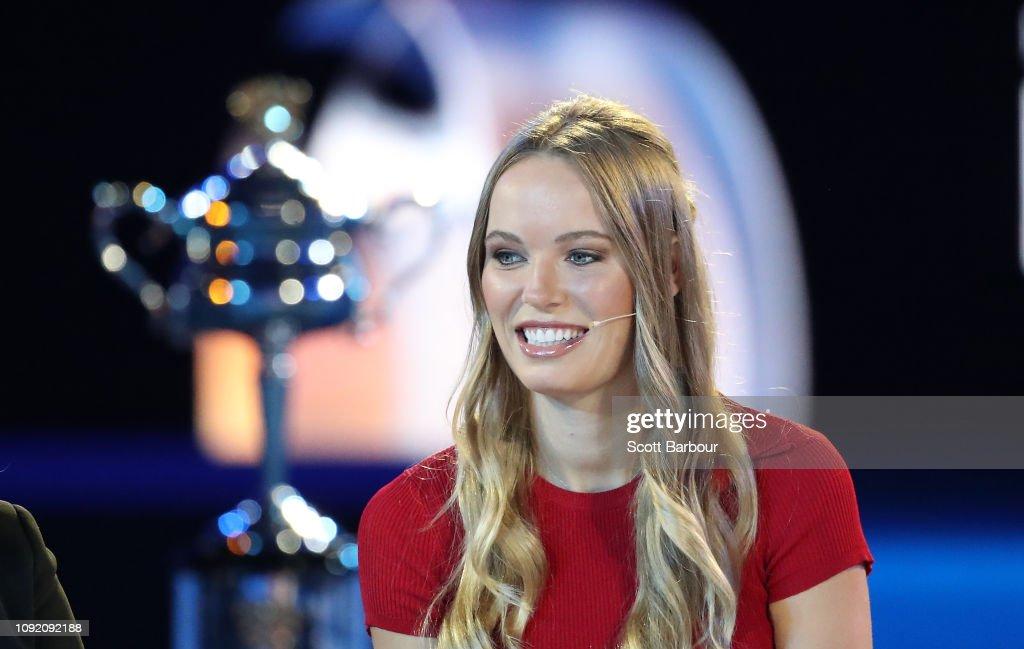 2019 Australian Open Official Draw : News Photo
