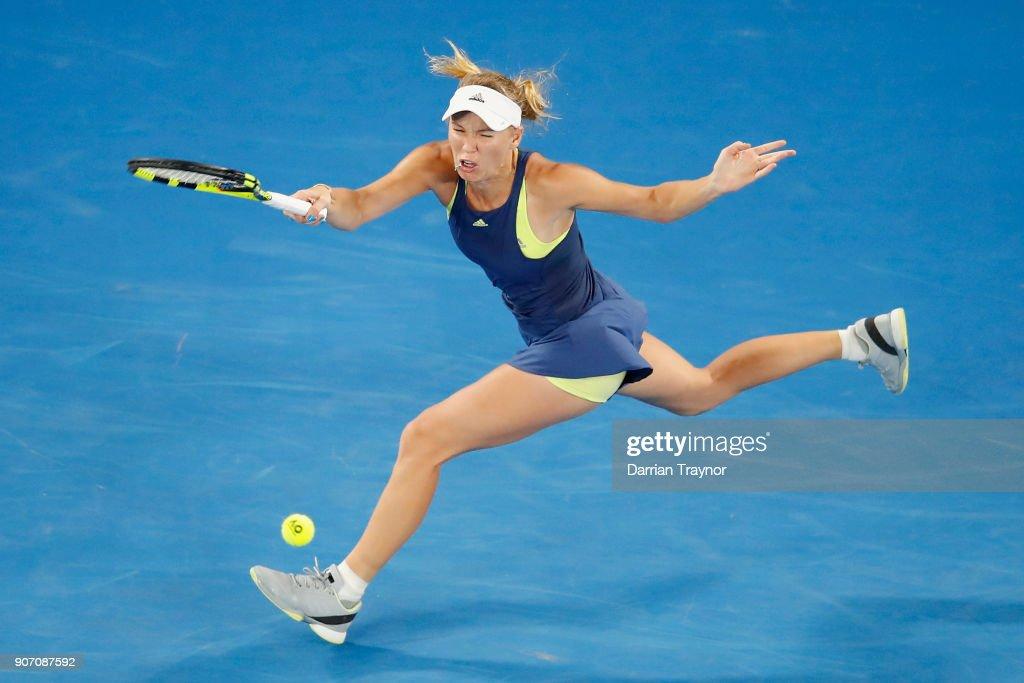2018 Australian Open - Day 5 : News Photo