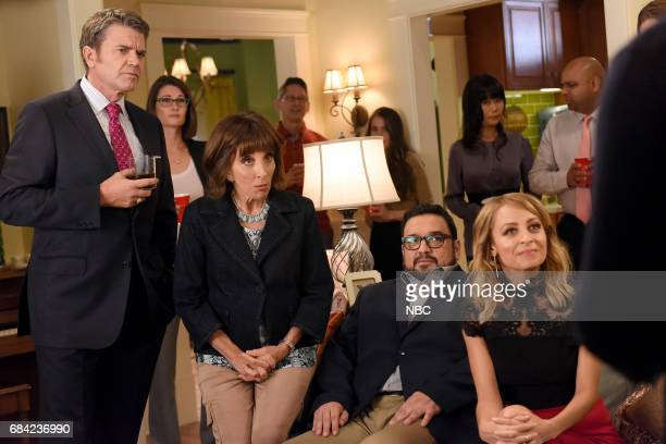NEWS 'Carol's Eleven' Episode 110 Pictured John Michael Higgins as Chuck Andrea Martin as Carol Horatio Sanz as Justin Nicole Richie as Portia