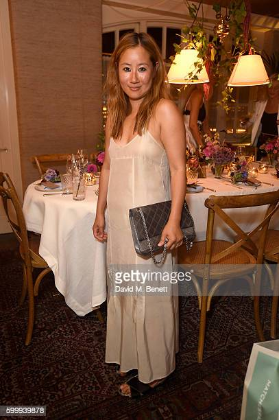 Carolyn Asome attends a cocktail reception hosted by RACIL and MATCHESFASHIONCOM to celebrate the launch of Racil AW16 Collection on September 7 2016...