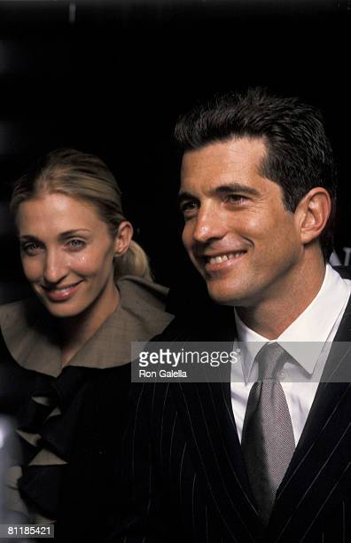 Carolyn Bessette and John F Kennedy Jr