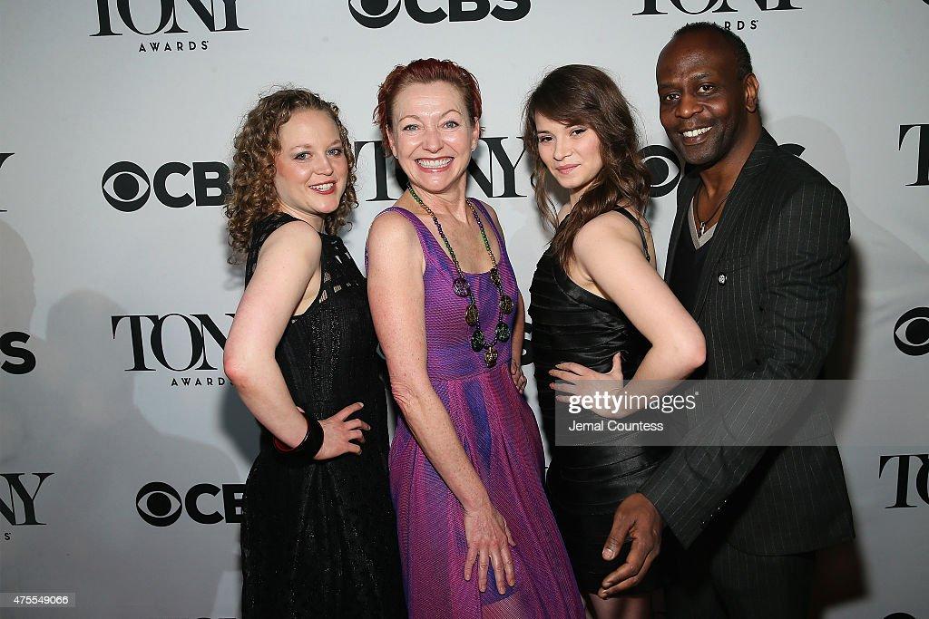 2015 Tony Honors Cocktail Party : News Photo