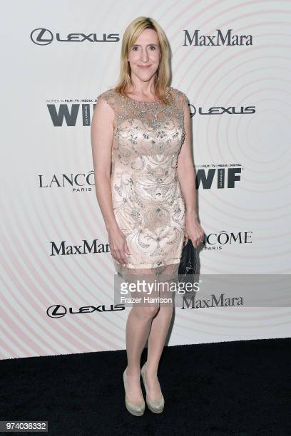 Carolyn Bridget Kennedy attends the Women In Film 2018 Crystal Lucy Awards presented by Max Mara Lancôme and Lexus at The Beverly Hilton Hotel on...