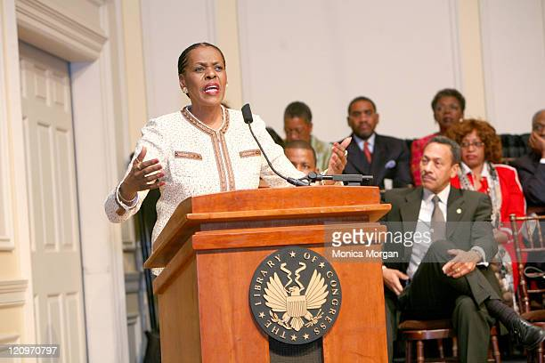 Carolyn Cheeks Kilpatrick Chairperson Congressional Black Caucus