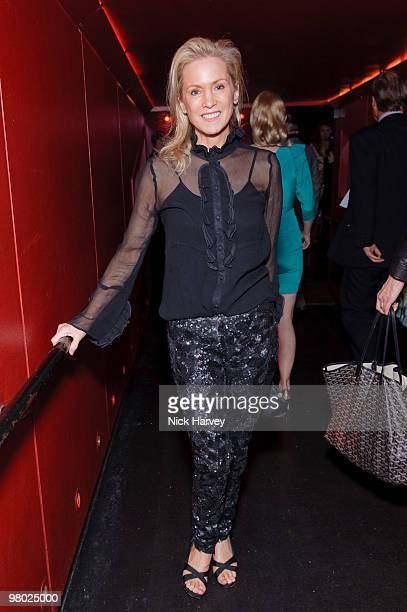 Carolyn Dailey attends The ICA Fundraising Gala at KOKO on March 24, 2010 in London, England.