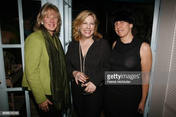 Carolyn Englefield Deborah Buck and Melissa Feldman attend BUCK HOUSE celebrates the release of JUAN MONTOYA's new book at Buck House on December 3...