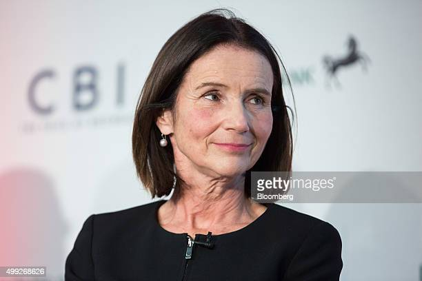 Carolyn Fairbairn director general of Confederation of British Industry pauses at the MSB Summit 2015 in the City of London UK on Monday Nov 30 2015...