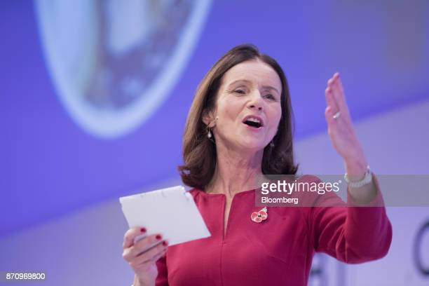 Carolyn Fairbairn director general of the Confederation of British Industry speaks at the CBI Annual Conference in London UK on Monday Nov 6 2017...