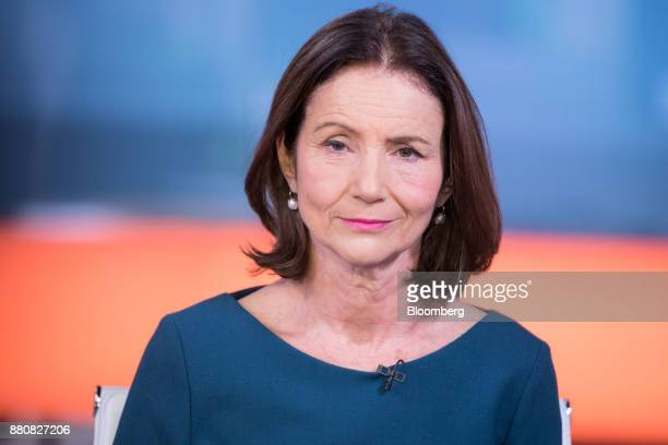 Carolyn Fairbairn director general of the Confederation of British Industry pauses during a Bloomberg Television interview in London UK on Tuesday...