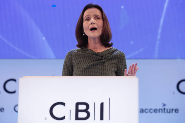 GBR: U.K. Business Leaders At CBI Annual Conference 2019