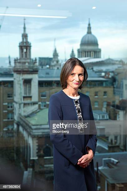 Carolyn Fairbairn directorgeneral of the Confederation of British Industry poses for a photograph in London UK on Monday Nov 16 2015 Fairbairn...