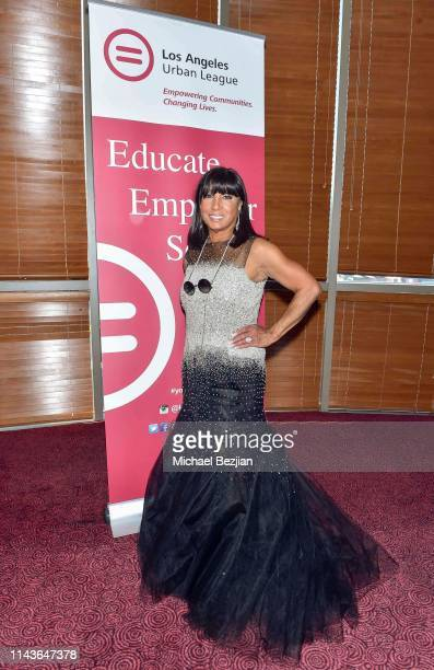 Carolyn Folks attends Byron Allen Honored by Los Angeles Urban League on April 18 2019 in Hollywood California