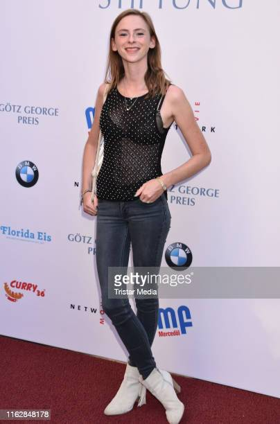 Carolyn Genzkow attends the Goetz George Award at Astor Film Lounge on August 19 2019 in Berlin Germany