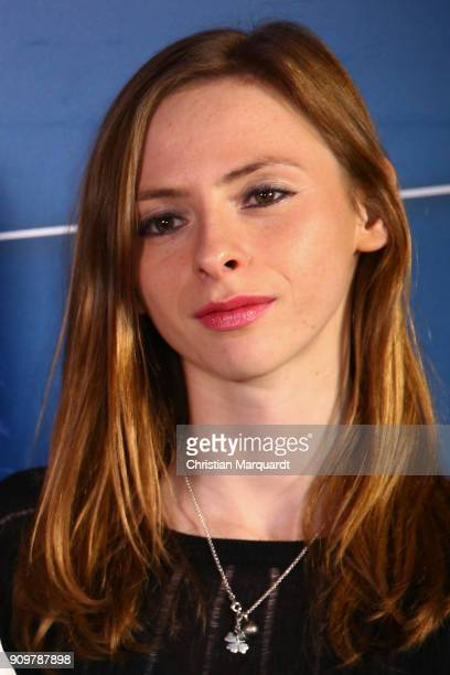 Carolyn Genzkow attends the 'Tatort Meta' premiere at Delphi Filmpalast on January 24 2018 in Berlin Germany