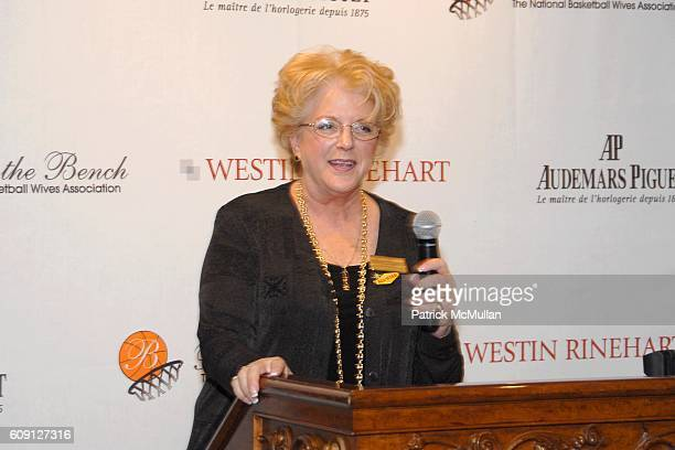 Carolyn Goodman attends 6th Annual NBA Wives Luncheon sponsored by ING Foundation at Turnberry Palace on February 17 2007 in Las Vegas NV
