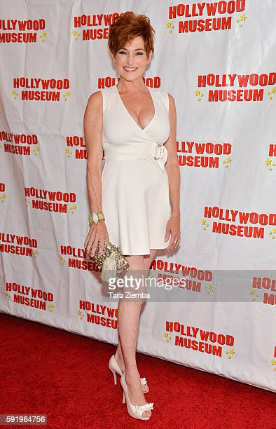 Carolyn Hennesy attends a preview of The Hollywood Museum's Child Stars Then And Now exhibit at The Hollywood Museum on August 18 2016 in Hollywood...