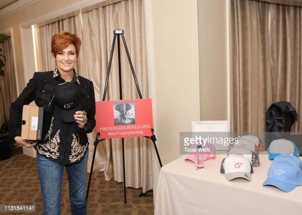 Carolyn Hennesy attends Debbie Durkin's EcoLuxe Lounge Honoring Film Nominees at The Beverly Hilton Hotel on February 22 2019 in Beverly Hills...