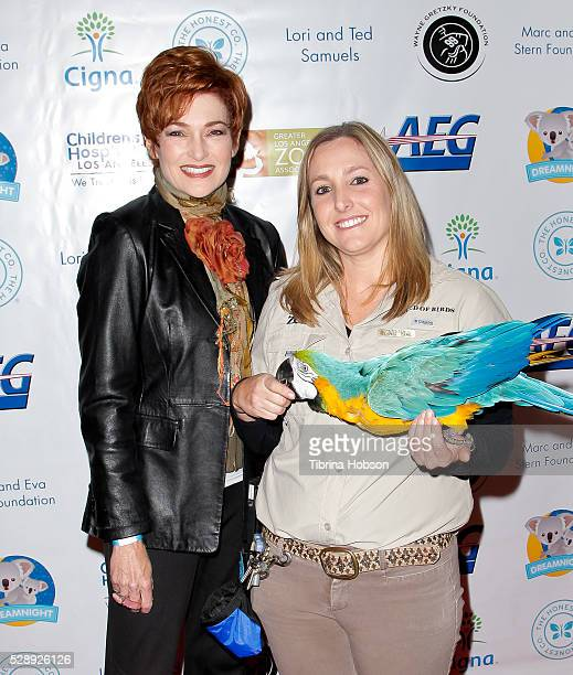 Carolyn Hennesy attends Dreamnight at The Los Angeles Zoo at Los Angeles Zoo on May 6 2016 in Los Angeles California