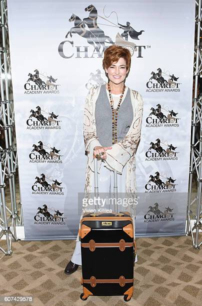 Carolyn Hennesy attends EcoLuxe Lounge Celebrates the Emmys at The Beverly Hilton on September 17 2016 in Beverly Hills California