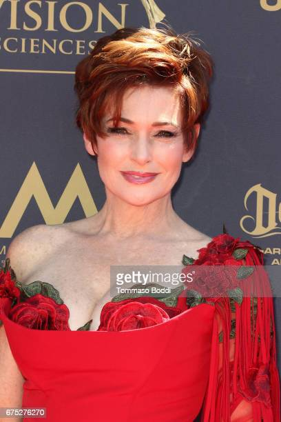 Carolyn Hennesy attends the 44th Annual Daytime Emmy Awards at Pasadena Civic Auditorium on April 30 2017 in Pasadena California