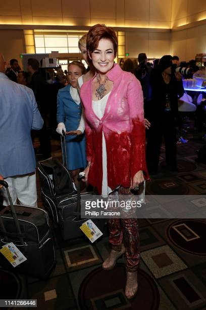 Carolyn Hennesy attends the Daytime Emmy Awards PreAwards Networking Party/Gift Lounge at Pasadena Convention Center on May 4 2019 in Pasadena...