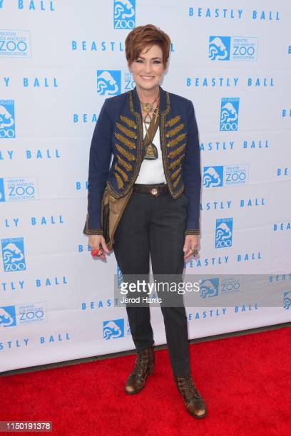 Carolyn Hennesy attends the Greater Los Angeles Zoo Association's 49th Annual Beastly Ball at Los Angeles Zoo on May 18 2019 in Los Angeles California