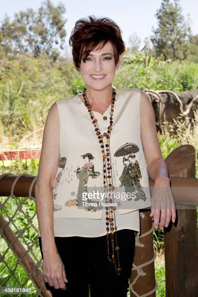 Carolyn Hennesy attends the Los Angeles Zoo's 'Beastly Ball' media preview at the Los Angeles Zoo on June 5 2014 in Los Angeles California