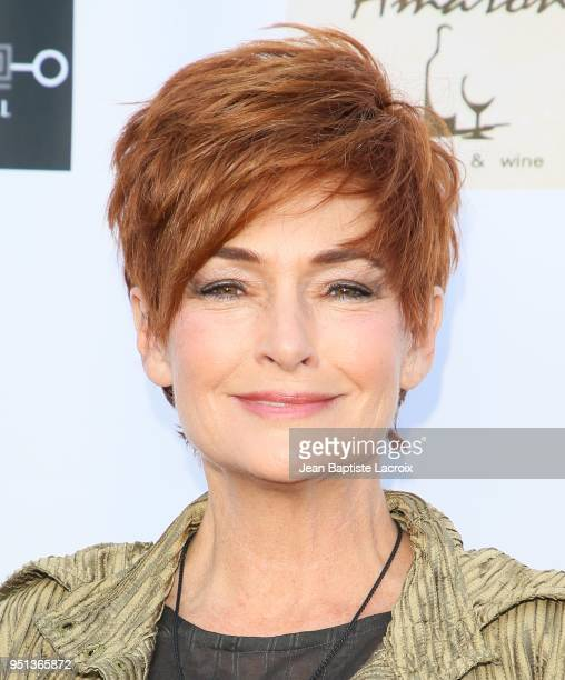 Carolyn Hennesy attends the National Academy of Television Arts Sciences' 2018 Daytime Emmy Nominee Reception at The Hollywood Museum on April 25...